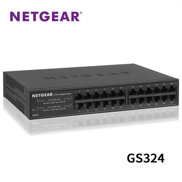 Netgear GS324 24埠 1000M GIGA Ethernet Switch 高速交換式...