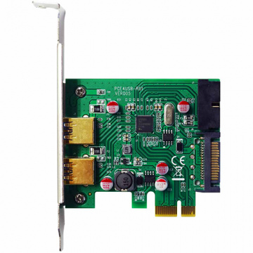 伽利略 Digifusion PEN219 PCI-E USB3.0 4 Port擴充卡 Renes...