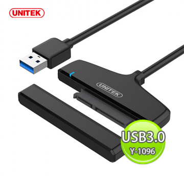 UNITEK 優越者 USB3.0 to SATA6G 轉接器 Y-1096