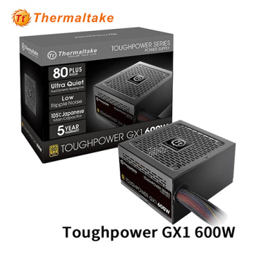 Thermaltake 曜越 Toughpower GX1 600W 80 PLUS金牌 電源供應器 5年保固