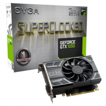 EVGA 艾維克 GeForce GTX 1050 3GB SC GAMING ACX2.0 GDDR5 顯示卡