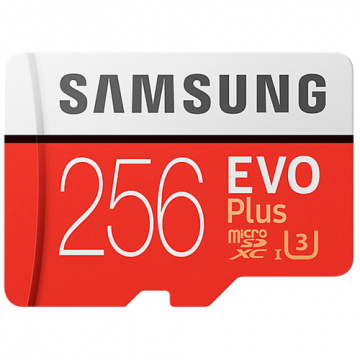 【三星限時活動】 Samsung 三星 EVO PLUS 256GB microSDXC 記憶卡