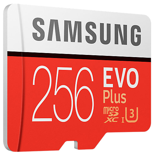 Samsung 三星 EVO Plus 256GB microSDXC 記憶卡