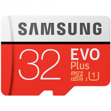 Samsung 三星 EVO Plus 32GB microSDXC 記憶卡