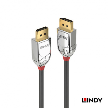LINDY 36302 CROMO LINE DISPLAYPORT 1.4版 公 TO 公 傳輸線 2M