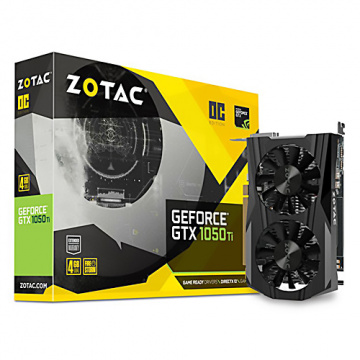 ZOTAC 索泰  GeForce® GTX 1050 Ti OC Edition 顯示卡