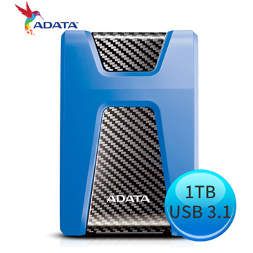 ADATA 威剛 DashDrive Durable HD650 1T B USB3.0 2.5吋 ...