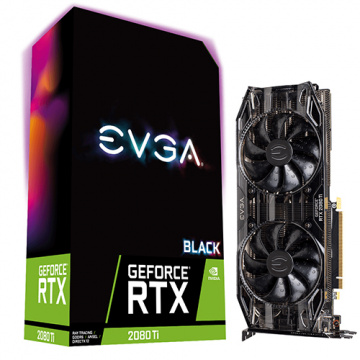 EVGA 艾維克 GeForce RTX2080Ti 11GB Black Edition GAMI...