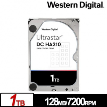 Western Digital WD 威騰 Ultrastar DC HA210 1TB 3.5吋 ...