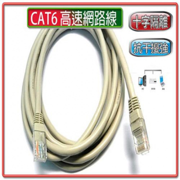 彰唯 I-wiz CT6-4 CAT6  3米網路線