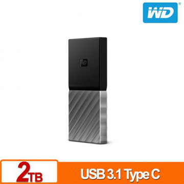 WD My Passport SSD 2TB USB 3.1 Type-C 外接式固態硬碟