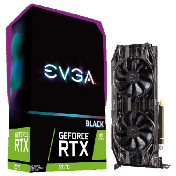 艾維克 EVGA GeForce RTX 2070 XC BLACK EDITION GAMING ...