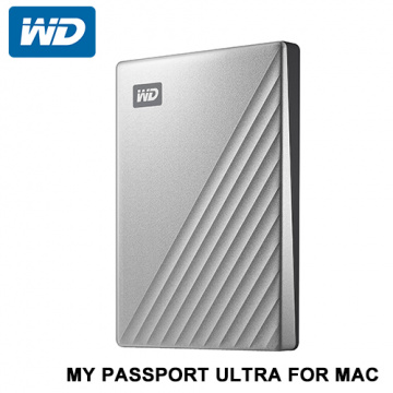 WD My Passport Ultra For Mac 2.5吋 外接硬碟 4TB