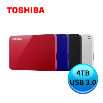 TOSHIBA Canvio Advance V9 4TB 2.5吋行動硬碟