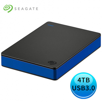 Seagate Game Drive for ps4 4TB USB 3.0 2.5吋 外接硬碟