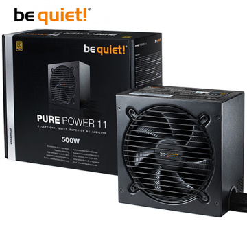 be quiet! PURE POWER 11 500W 80+金牌 電源供應器