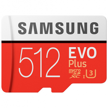 Samsung 三星 EVO Plus 512GB microSDXC 記憶卡(目前都是HA版本)