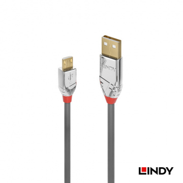 LINDY 林帝 36652 - CROMO LINE USB2.0 TYPE-A公 TO MICR...