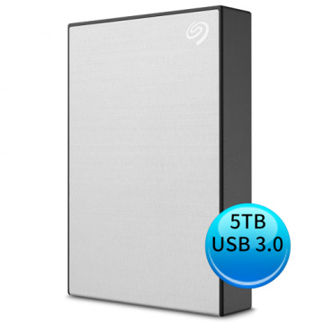 (2019新款) Seagate Backup Plus Portable 5TB USB3.0 2.5吋 外接硬碟 星鑽銀 STHP5000401