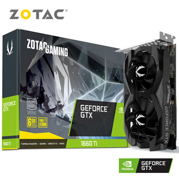 ZOTAC GAMING GeForce GTX 1660 Ti 6GB GDDR6 顯示卡