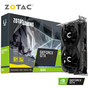 ZOTAC GAMING GeForce GTX 1660 6GB GDDR5 顯示卡