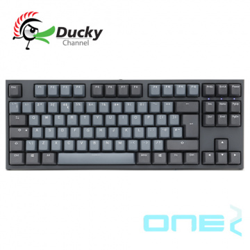 Ducky One2 Skyline 天際線 TKL PBT 二色成型 Cherry 機械式鍵盤 靜...