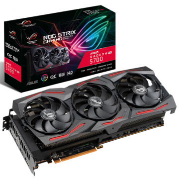 【現貨!】ASUS 華碩 ROG-STRIX-RX5700-O8G-GAMING PCI-E 4.0 顯示卡