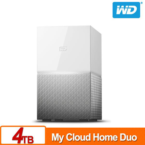 WD My Cloud Home Duo 4TB (2TBx2)  3.5吋 NAS 雲端儲存系統