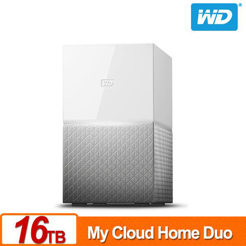 WD My Cloud Home Duo 16TB(8TBx2) 3.5吋 NAS 雲端儲存系統