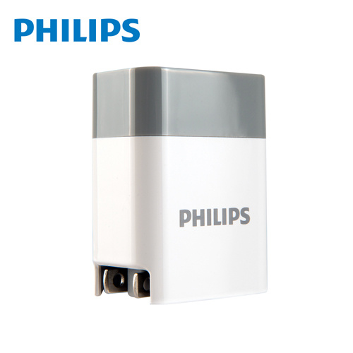 PHILIPS 飛利浦 PD+QC Type-C USB 18W雙孔充電器 DLP4320C