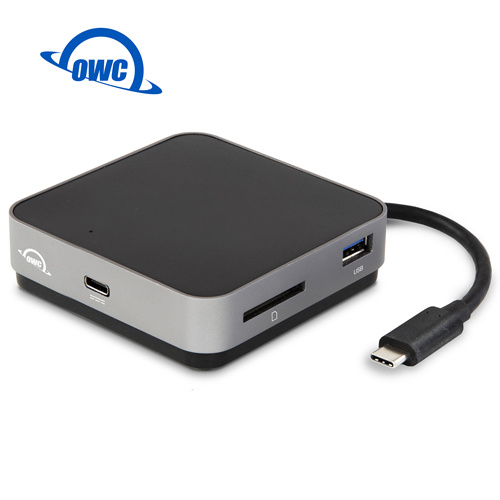OWC USB-C TRAVEL DOCK 2.0(太空灰)USB-C、USB-A、SD Card、HDMI隨身USB-C多功能擴充座 ( OWCTCDK5P2SG )