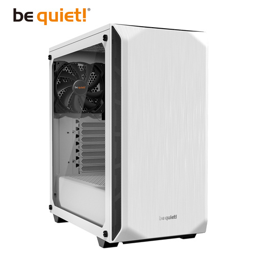 be quiet! Pure Base 500 Window White ATX 強化玻璃側板電腦機...