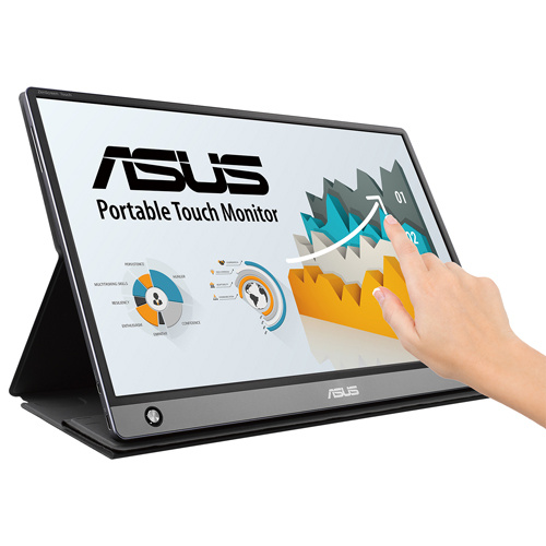 ASUS ZenScreen Touch MB16AMT Full HD IPS 15.6型 可攜式10點觸控螢幕