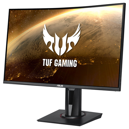 ASUS 華碩 TUF Gaming VG27VQ FreeSync 27型 1500R VA 165Hz 曲面 電競螢幕