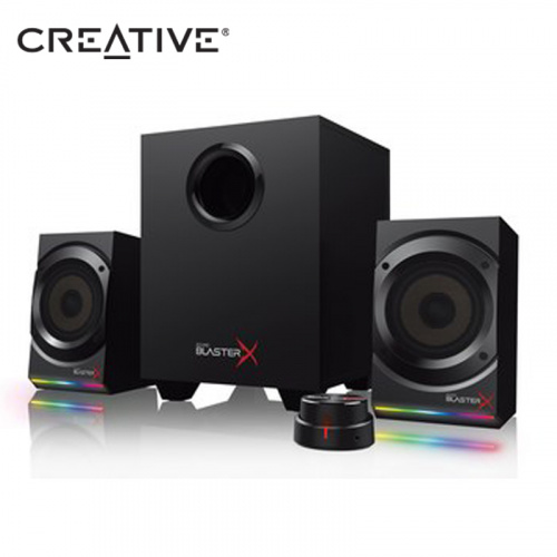 CREATIVE 創巨 Sound BlasterX Kratos S5 2.1聲道 RGB 電競 喇叭