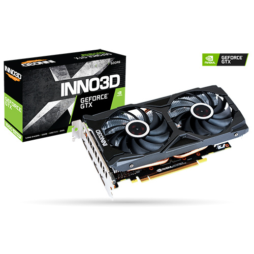 INNO3D映眾 GEFORCE GTX 1660 SUPER TWIN X2
