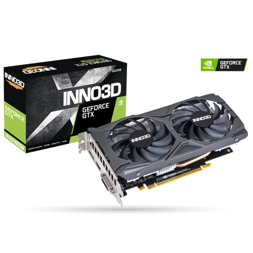 INNO3D 映眾 GeForce GTX 1650 SUPER TWIN X2 OC 4G 顯示卡 N165S2-04D6X-1720VA31