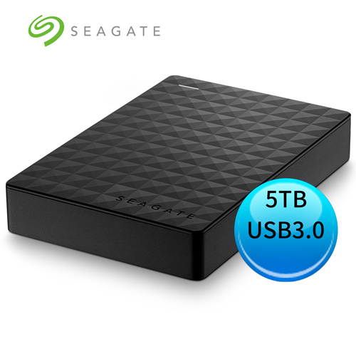 Seagate Expansion 5TB 新黑鑽 USB3.0 2.5吋 外接硬碟 STEA5000402
