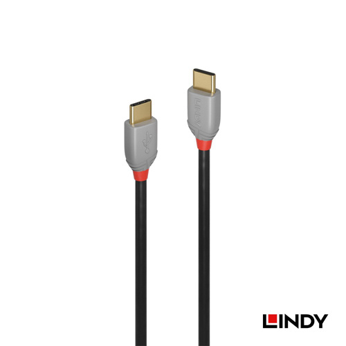 LINDY 36872 ANTHRA LINE USB 2.0 TYPE-C 公 TO 公 傳輸線 2M