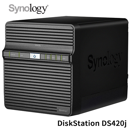 SYNOLOGY 群暉 DiskStation DS420j 4Bay NAS 網路儲存伺服器