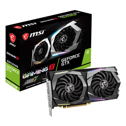 MSI 微星 GeForce GTX1660 SUPER GAMING X 6G 顯示卡