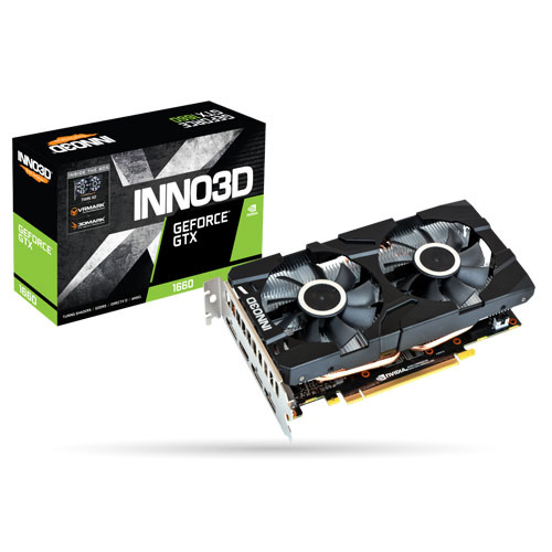 Inno3D映眾 Geforce GTX 1660 6GB GDDR5 TWIN X2 顯示卡