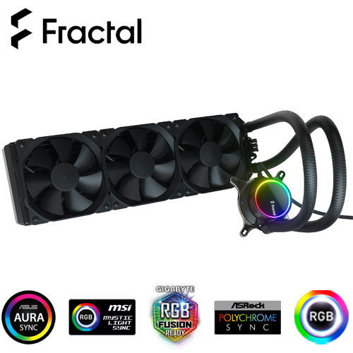 Fractal Design CELSIUS + S36 Dynamic RGB 一體式 水冷散熱器 FD-W-2-S3601