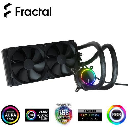 Fractal Design Celsius + S28 Dynamic RGB 一體式 水冷散熱器 FD-W-2-S2801