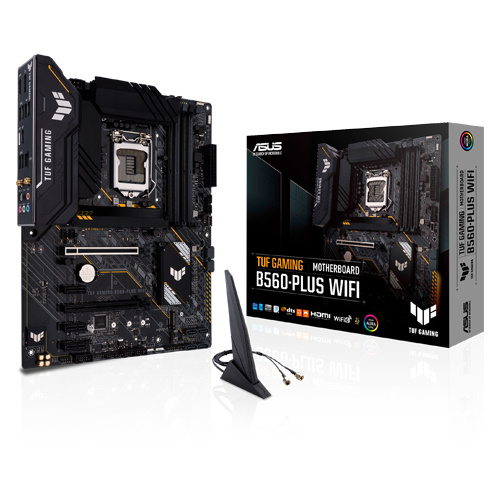 ASUS 華碩 TUF GAMING B560-PLUS WIFI ATX 主機板 LGA1200 支援intel第10代11代CPU