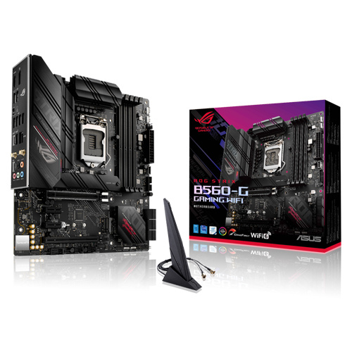 ASUS 華碩 ROG STRIX B560-G GAMING WIFI M-ATX 主機板 LGA1200腳位 支援intel第10代11代CPU